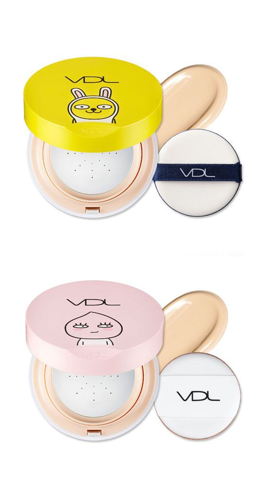 VDL BEAUTY METAL CUSHION FOUNDATION (KAKAO FRIENDS) / Cosmetic, 화장품