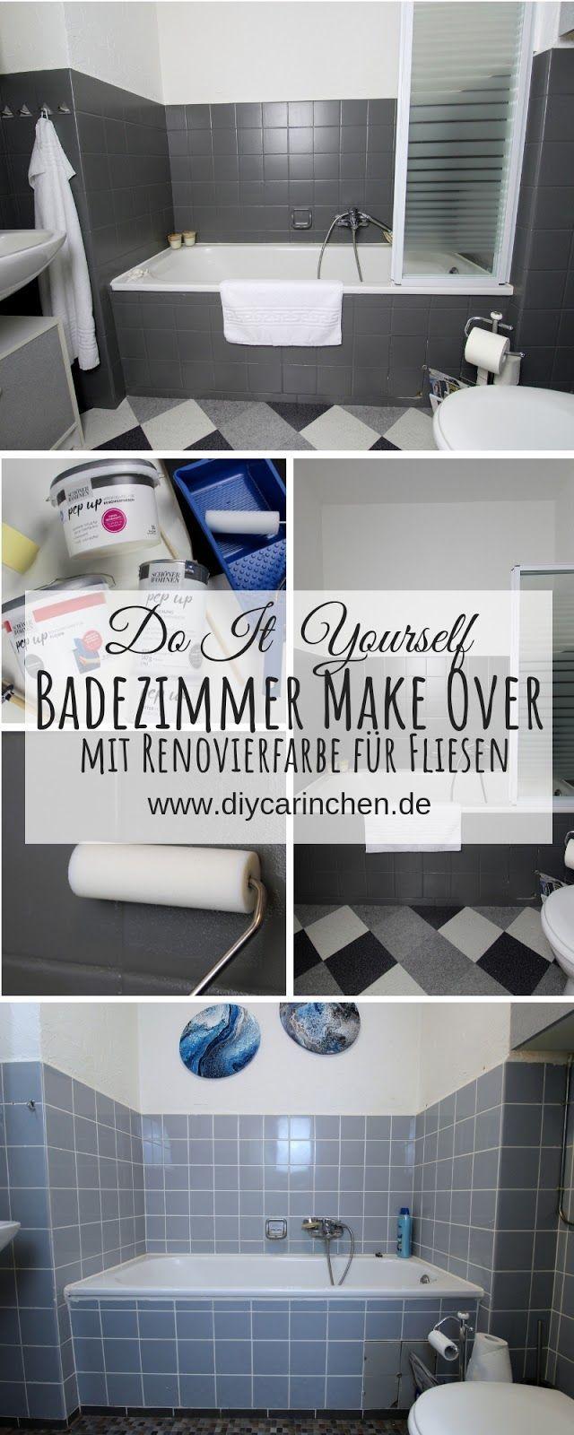 Diy Badezimmer Streichen Und Renovieren Mit Fliesenfarbe Badezimmer Streichen Badezimmer Renovieren Und Neues Badezimmer