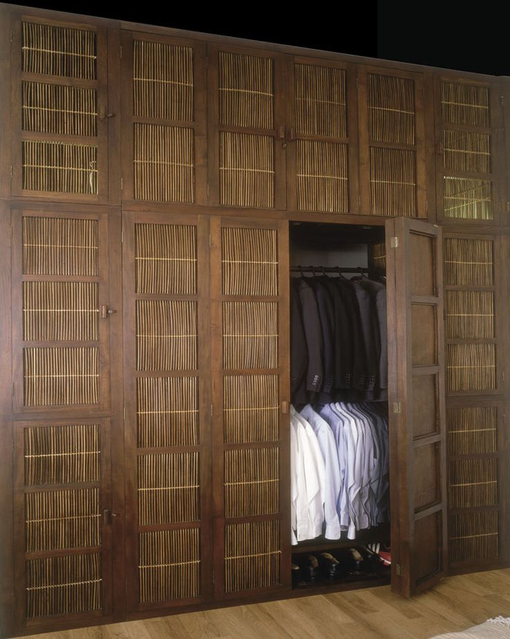 wonderful bamboo closet doors adding accent to your