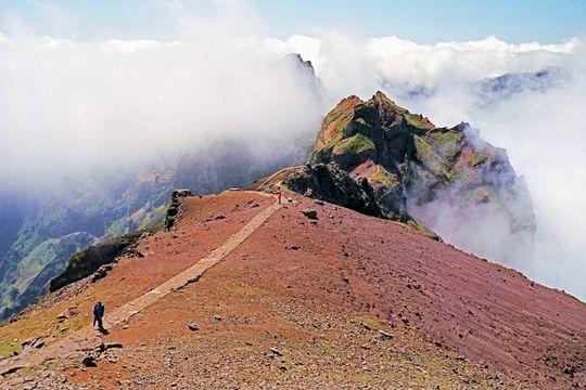 L'île de Madère est vraiment le paradis des randonneurs. Son point culminant, le Pico Ruivo (1 862 m) n'est accessible qu'à pied. On peut entre autres y accéder depuis le Pico do Arieiro via un sentier de 8 kilomètres. Comptez 30 minutes de route depuis Funchal pour rejoindre ce sommet.  ©  Pierre Coquil