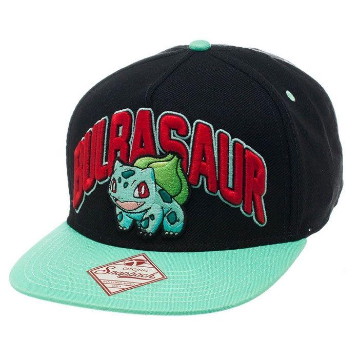 Pokemon: Bulbasaur Snap Back Cap
