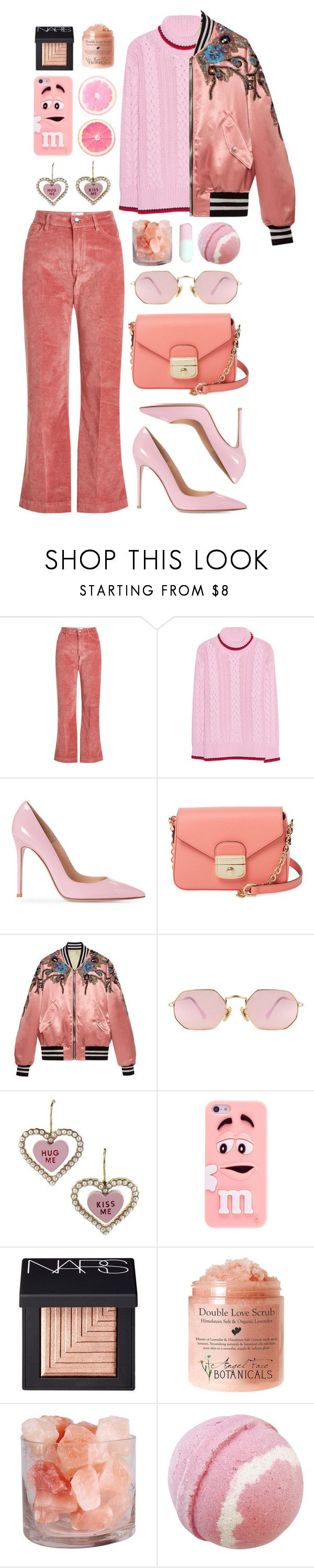 """""""I come alive in the fall time"""" by emmaadv ❤ liked on Polyvore featuring The Seafarer, Longchamp, Gucci, LMNT, Betsey Johnson and NARS Cosmetics"""