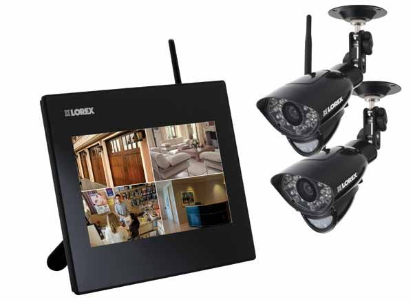 wireless video monitoring for remote monitoring in areas with no wiring.
