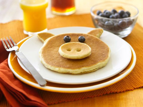 Fun-Shaped Pancakes  What a fun way to celebrate breakfast!Learn how to make easy pancakes that the whole family will enjoy eating!