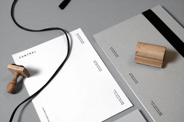 Central Magazine by Jorge León Dumpiérrez, via Behance