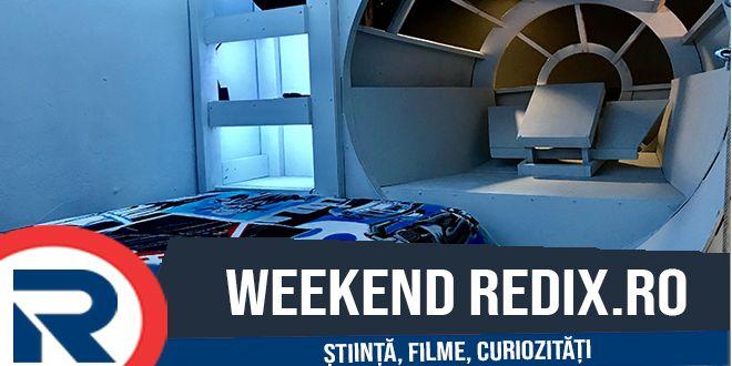 Patul perfect - Un pat cu forma navei Millennium Falcon #Bed #Curiozități #Filme #Fotografii #Fun #HowTo #Science #StarWars #Weekend #Cultura #Cum să #Curiozități #Weekend - https://redix.ro/patul-perfect/