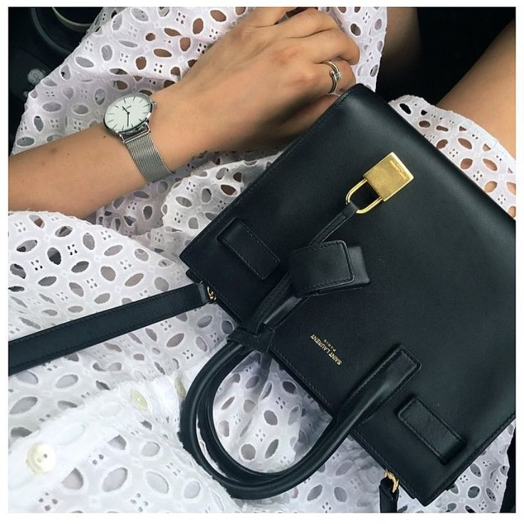 Â« Baby sac de jour by #saintlaurent in stores! #regram @nicolettareggio Â»: