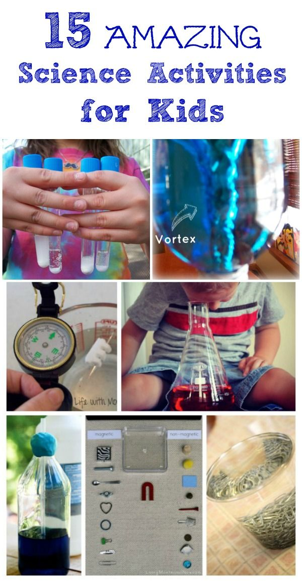 Introduce kids to science with these easy experiments & STEM activities!