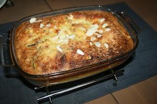 Low Carb - Grip op Koolhydraten: Courgette Quiche met kaas en amandel