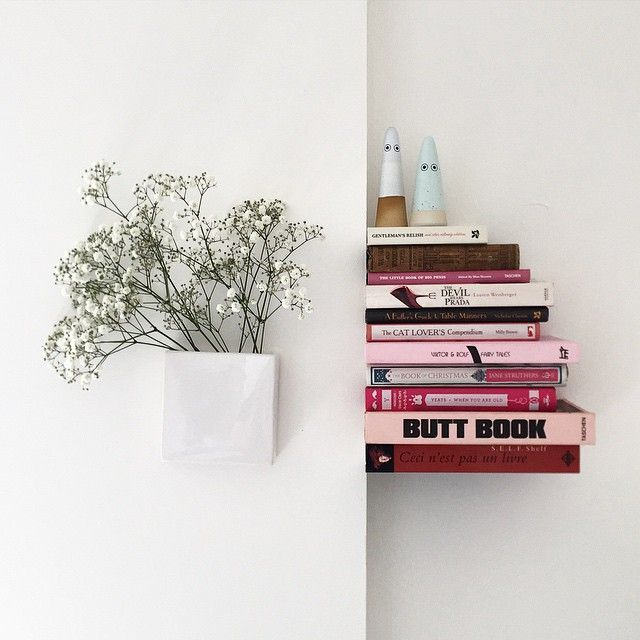 6 Ingenious Invisible Bookshelves