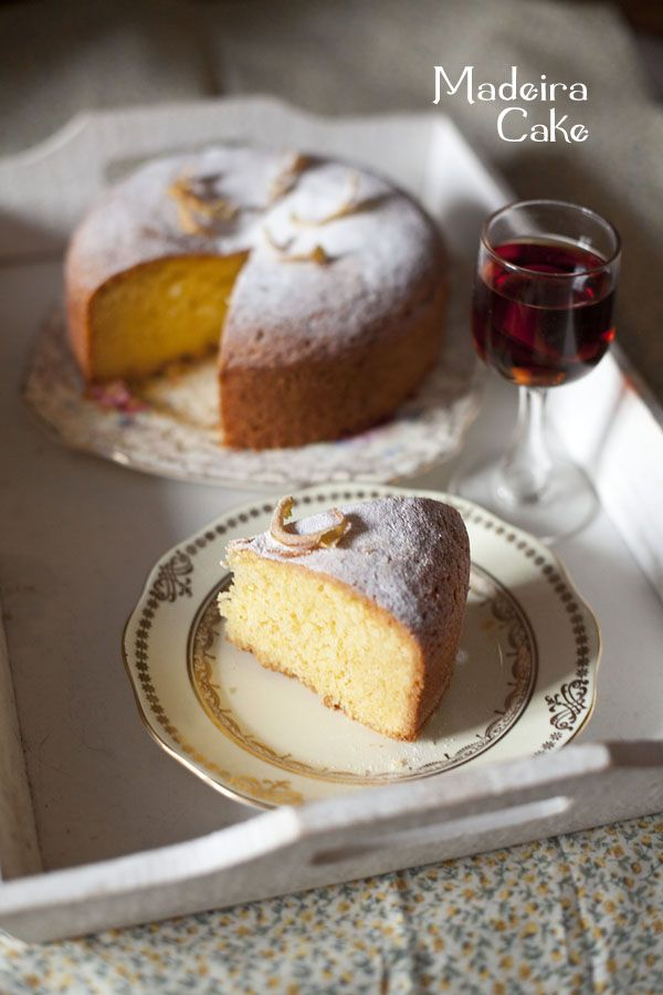 Celebrating British food and culture: Madeira cake to get you through the busy days. Originates from the 19th century to accompany a glass of madeira and other sweet wines, recipe here