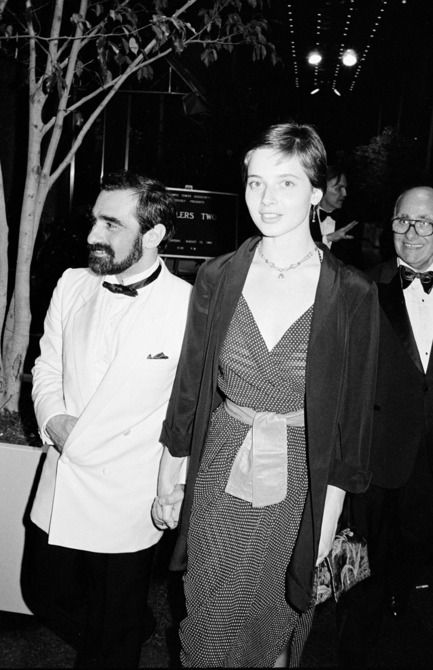 Martin Scorsese and Isabella Rossellini, 1981