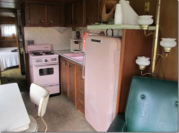 17 best images about retro mobile homes on pinterest for 50s style kitchen appliances
