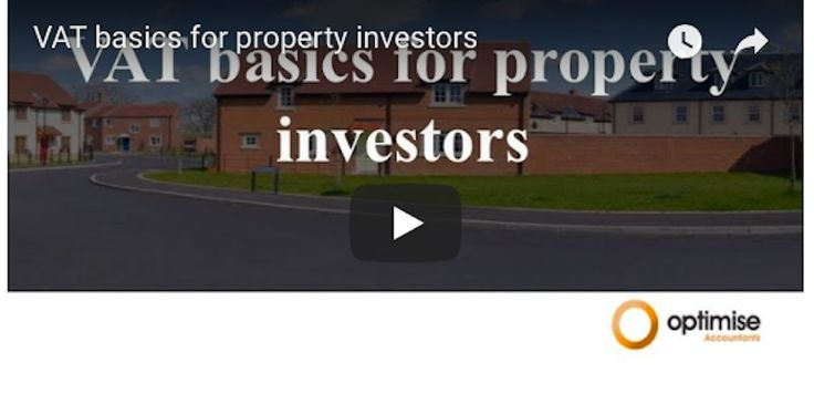 Value Added Tax (VAT) considerations for property investors  Did you know that the standard cost of 20% may be reduced if not removed altogether on your refurbishment costs?  Did you know that some commercial properties require you to pay 20% VAT on top of the property price?  It is an unknown fact for many property investors that VAT can indeed be reduced or mitigated in full.  video: https://www.youtube.com/watch?v=noV0kYJSzmk&t=21s
