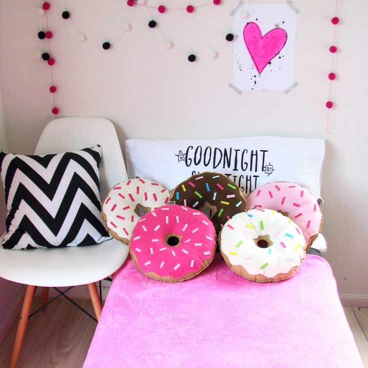 Donut pillows