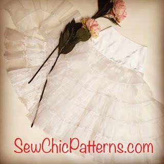 Sew Chic Pattern Company: Sew Chic Pretty Petticoat Sew Along LN1208