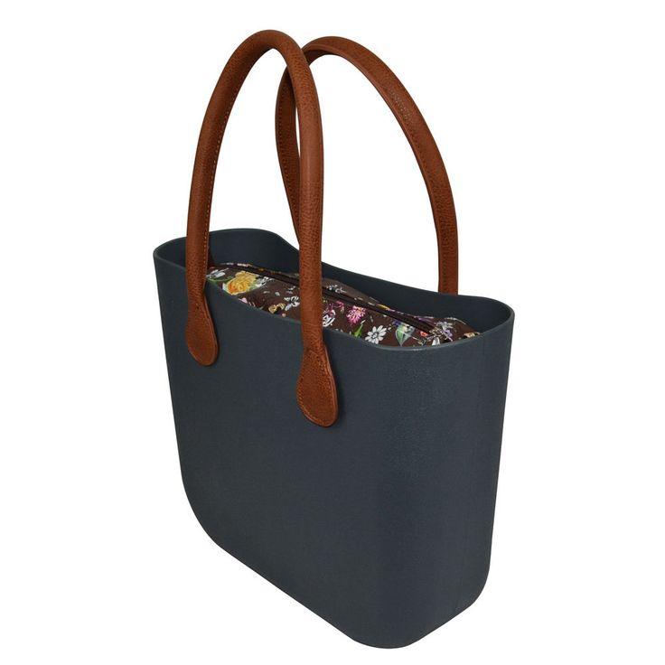 Nuovo rivestimento colorato inserto tela floreale per Big O Bag classico Obag | eBay