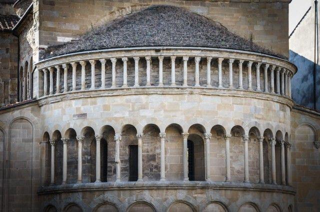 Arezzo , Tuscany, Italy - old town.
