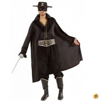 Zorro Kostüm, Maskierter Rächer