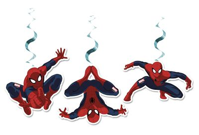 Spindelmannen - Takdekorationer