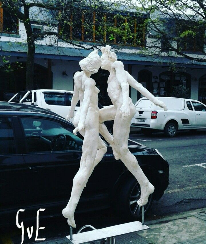 Outdoor Stellenbosch sculpture made by artist Gerhard van Eck