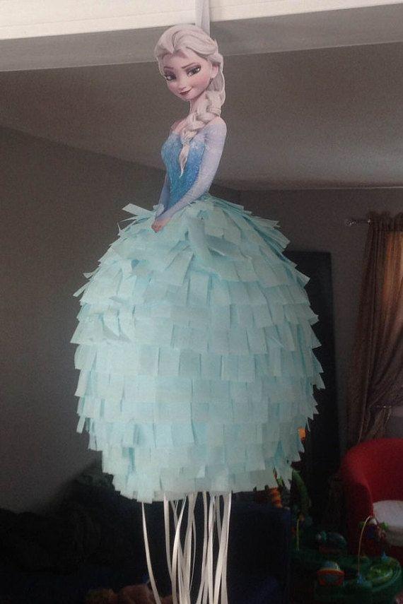 Piñata princesa Disney  Elsa congelado