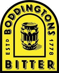 Boddingtons bitter,