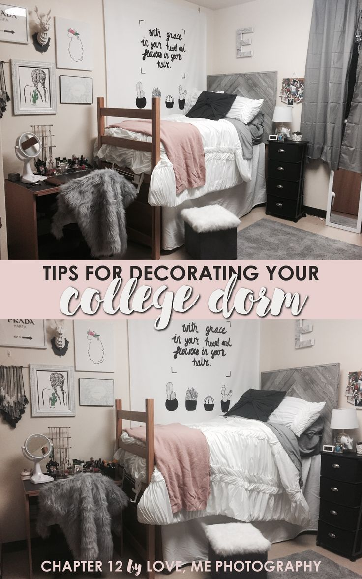 Creative dorm room ideas to make your space feel more cozy! | www.lovemephotography.com