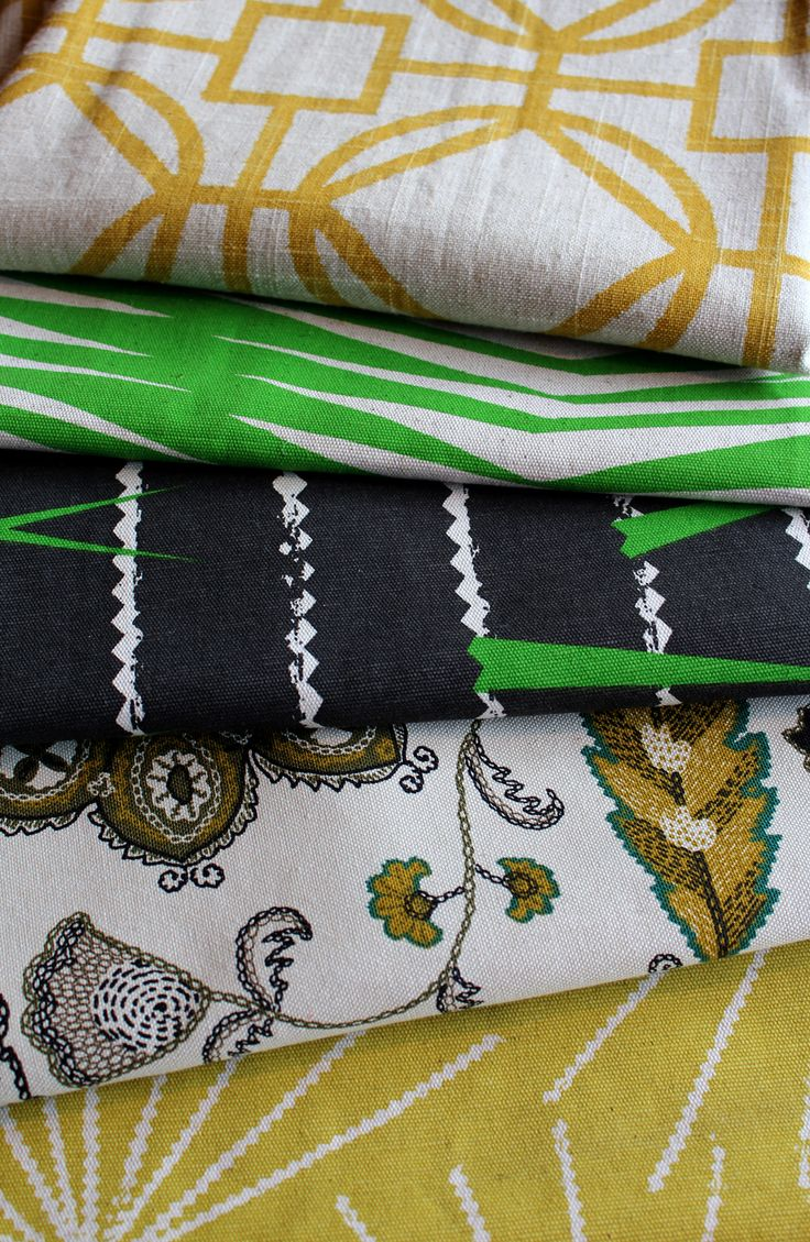 Some of our fabrics.