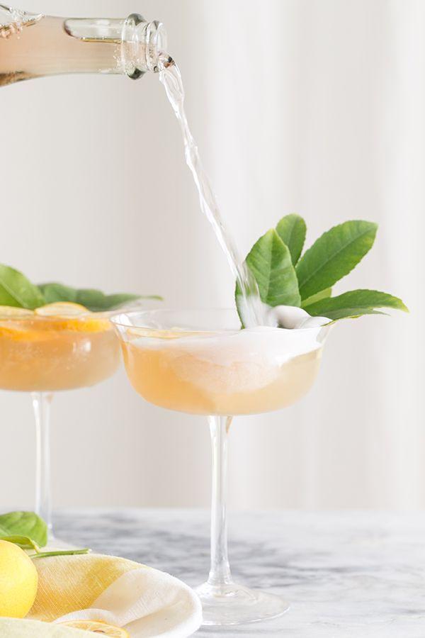 Ginger + Jasmine Rosé Cocktail