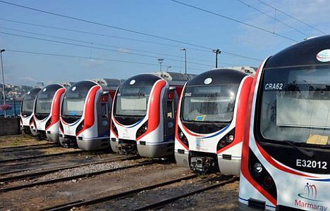 Number of train sets are increasing in Marmaray | Turkey - Railly News | Dailly Railway News & Magazine in English + Deutsch, Français, Espa...