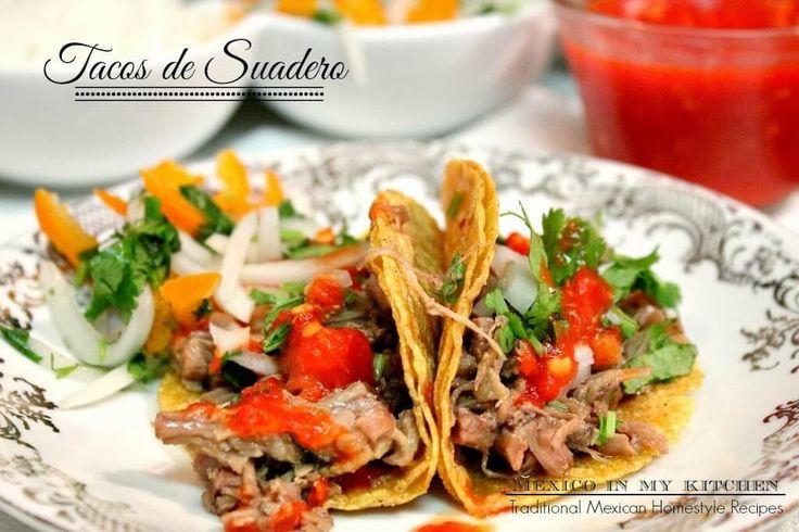 Tacos de Suadero receta casera