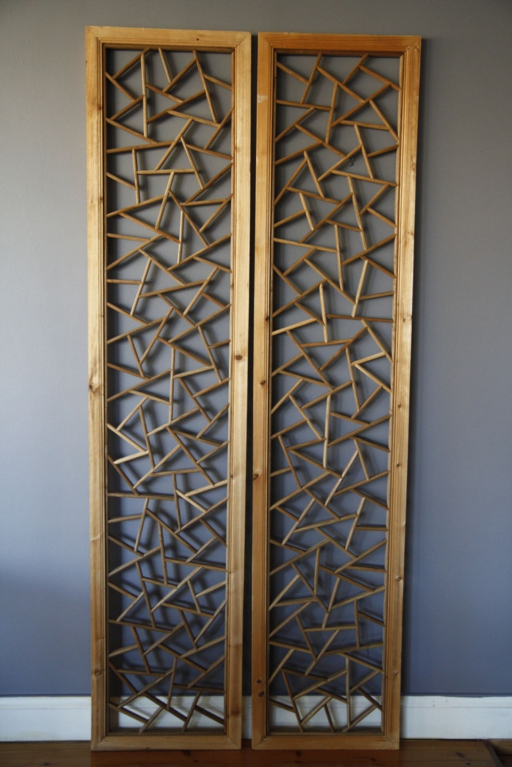 24 best images about decorative wood on pinterest acoustic panels oriental and decorative screens - Decorative partitions room divider ...