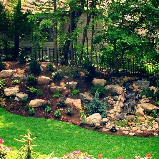 20 Sloped Backyard Design Ideas: Landscaping Ideas For Slopes