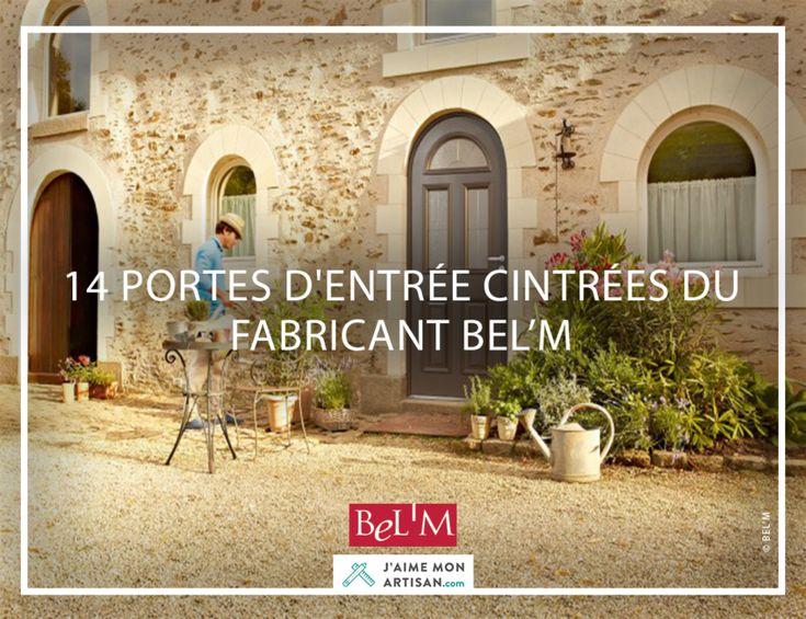 Découvres les 14 portes d'entrée cintrées mixtes du fabricant français Bel'm, c'est par ici !!