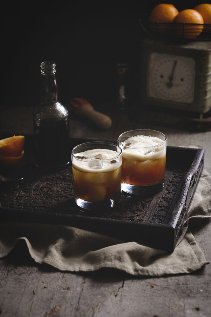 Burnt sugar syrup is a great way to add depth and complexity to cocktails, like the Burnt Whiskey Sour.