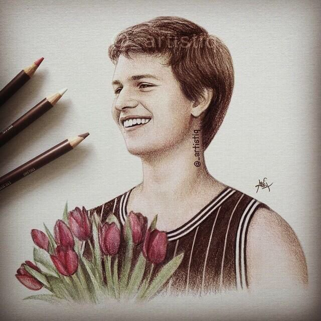 Augustus waters ♡ drawn by @_artistiq