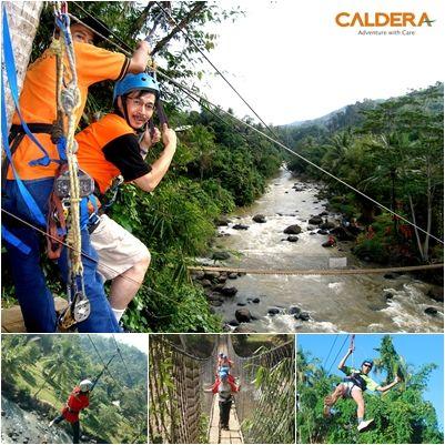 Flying Fox   #Caldera #River #Resort Citarik, Sukabumi. Indonesia