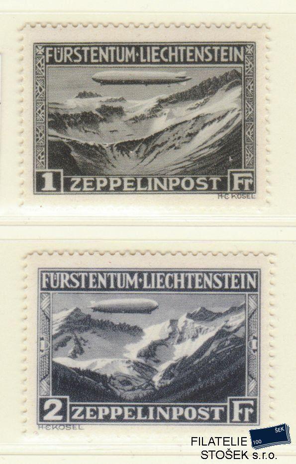 Liechtenstein známky Mi 114-115