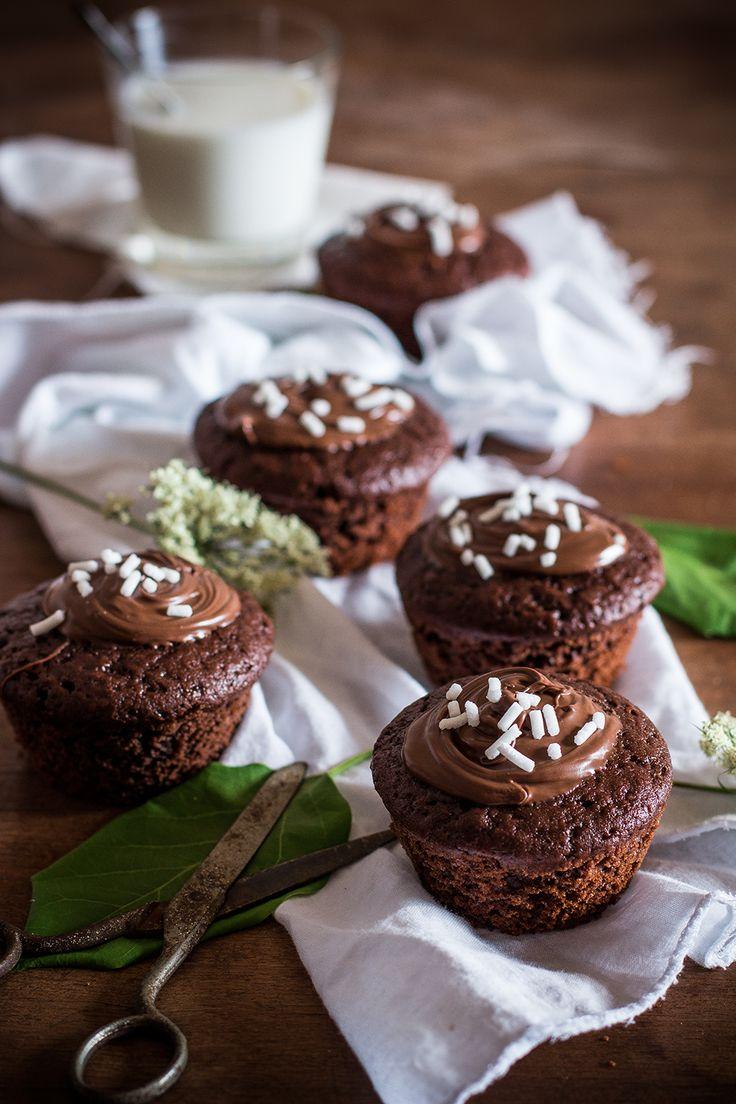 Muffins banana e cioccolato