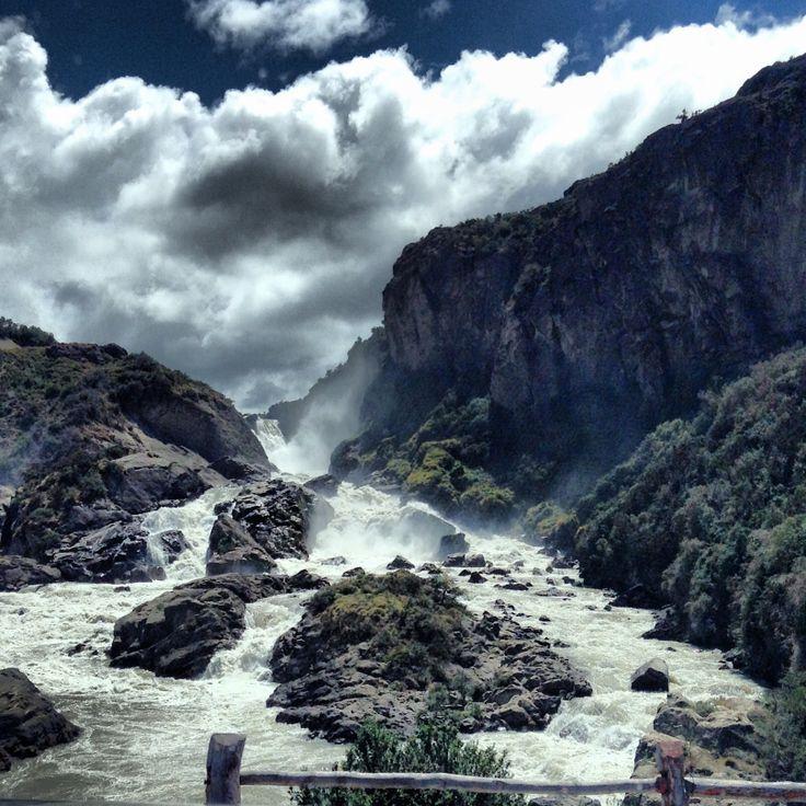 Saltos del Río Ibañez, Aysén, Patagonia chilena