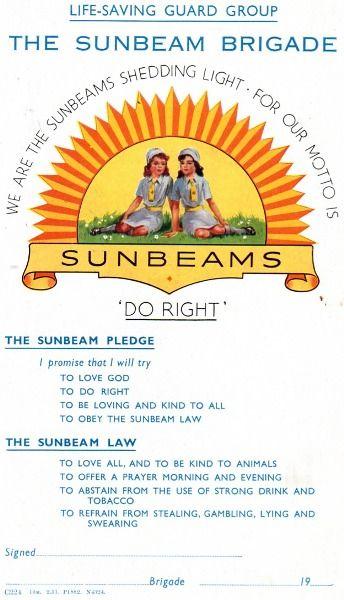 Old school version Sunbeams...remember the beanies?