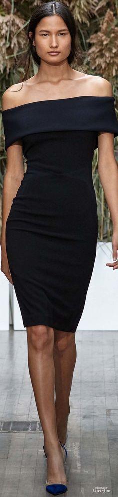 @roressclothes clothing ideas #women fashion black dress Kimora Lee Simmons Spring 2017