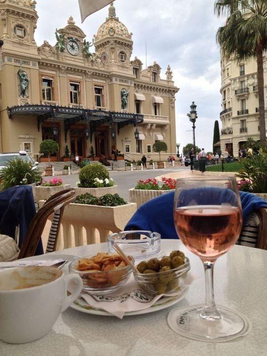 Café de Paris in Monte-Carlo, Principality of Monaco