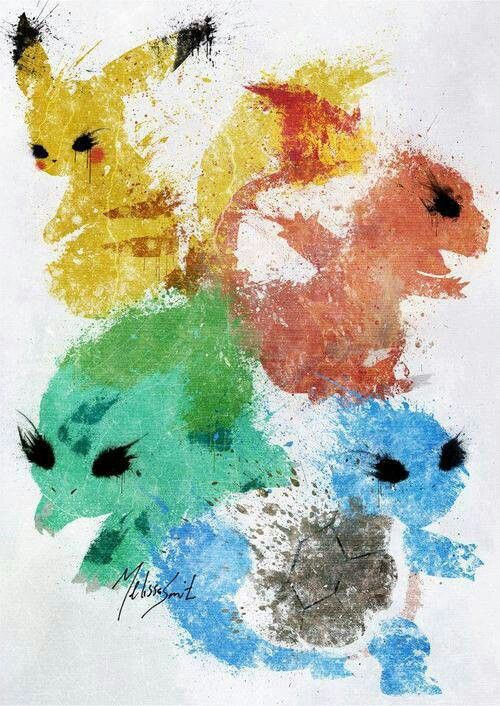 Amazing #Pokemon artwork! Enjoy #Japanese culture in our #language week! And check out the Japanese courses we offer in the UK, USA and Japan: http://www.cactuslanguage.com/en/languages/japanese.php