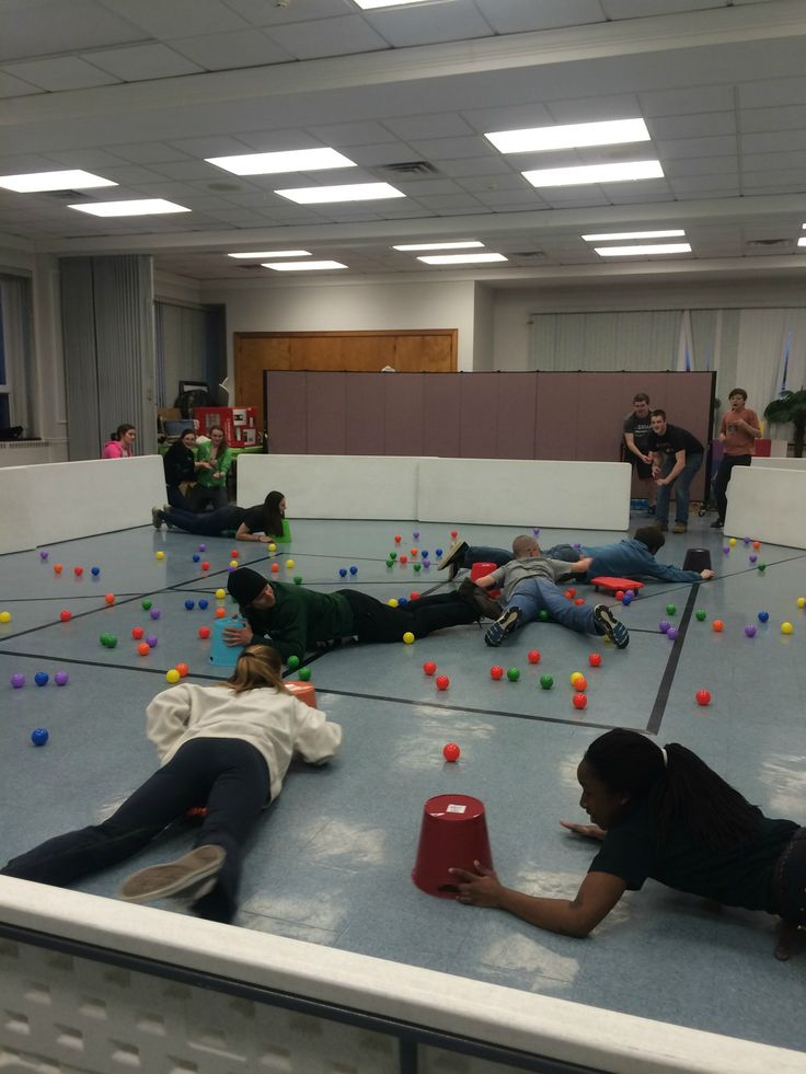 Human Hungry Hungry Hippos--different rounds/versions to play
