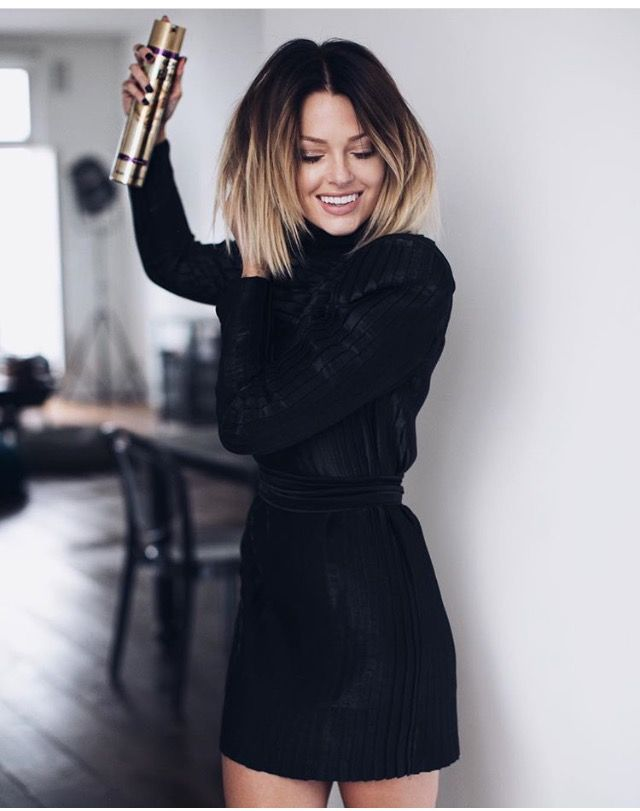 I always dream of short hair. A bob is so easy to style and you save so much time in the bathroom. But let's go long first. Re-pin @ItsLexiRae