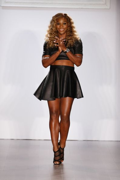 HSN Presents Serena Williams Signature Statement Collection #NYFW http://hellobeautiful.com/2014/09/10/serena-williams-nyfw-show-pictures/