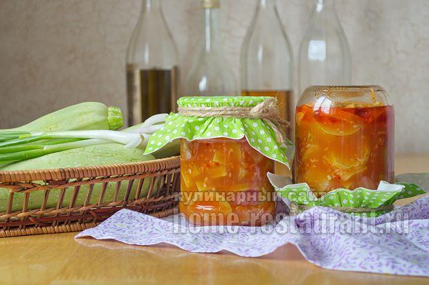 Как приготовить кабачки в томатном соусе с чесноком на зиму: рецепт с фото пошагово. Лучшие рецепты консервированных кабачков для вас на сайте home-restaurant.ru