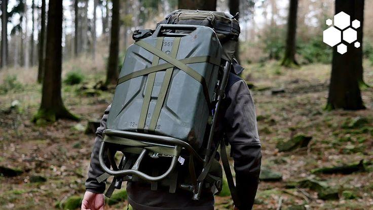 Tatonka Lastenkraxe (EFB) Load Carrier Outdoor Gear Review GERMAN + (ENG...